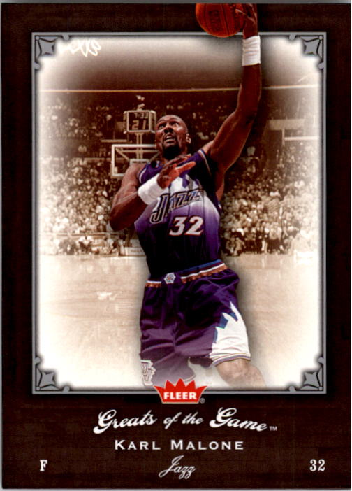 2005-06 Greats of the Game #95 Karl Malone CC