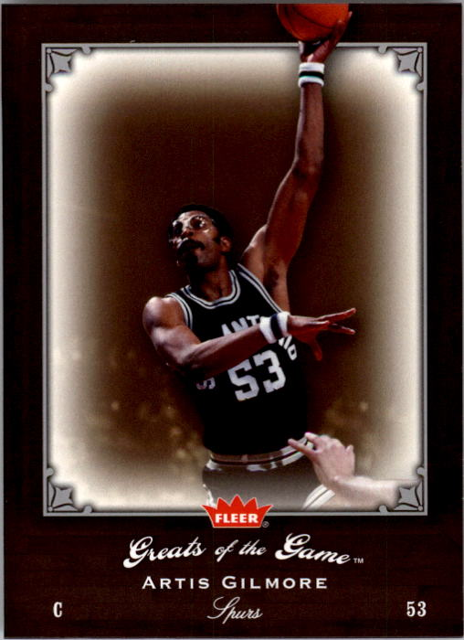 2005-06 Greats of the Game #96 Artis Gilmore CC