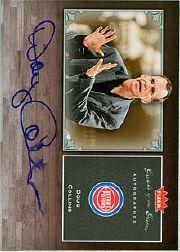2005-06 Greats of the Game Autographs #GGDC Doug Collins