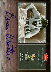 2005-06 Greats of the Game Autographs #GGWI Brian Winters