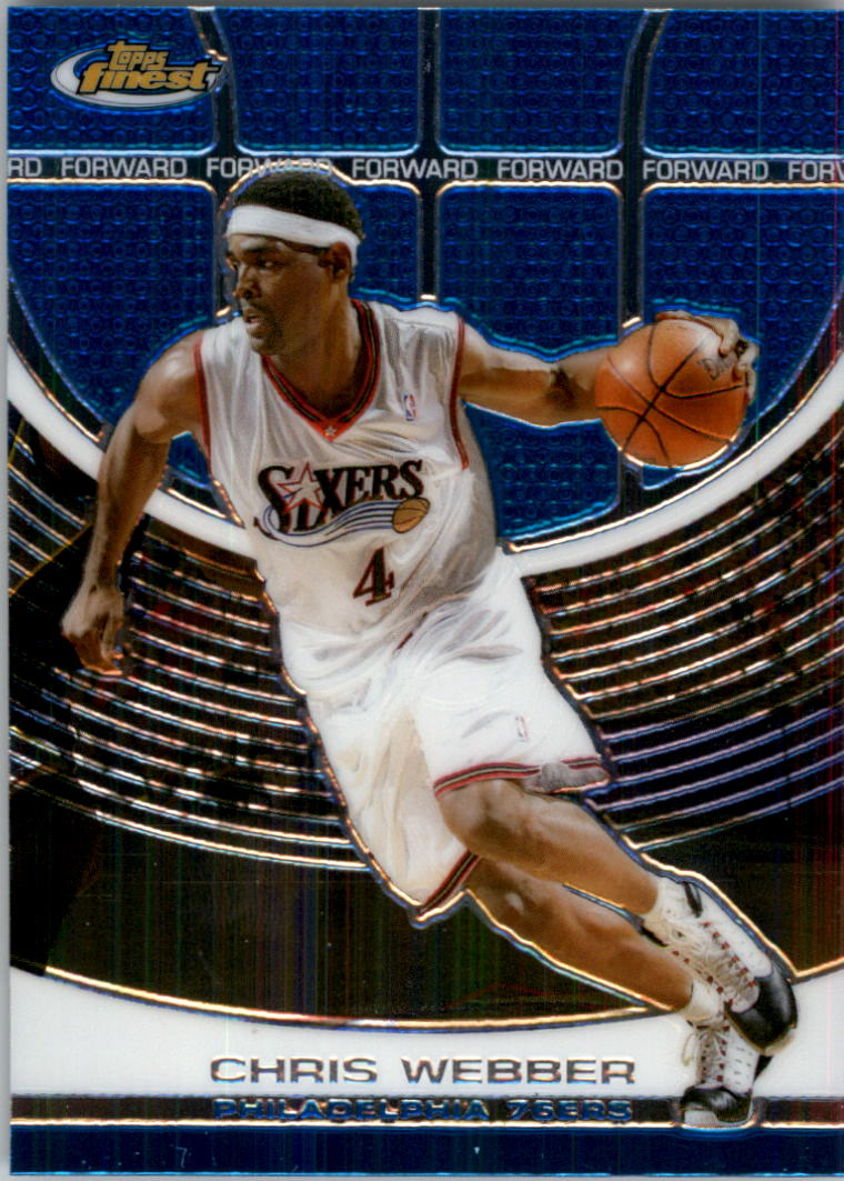 2005-06 Finest #87 Chris Webber