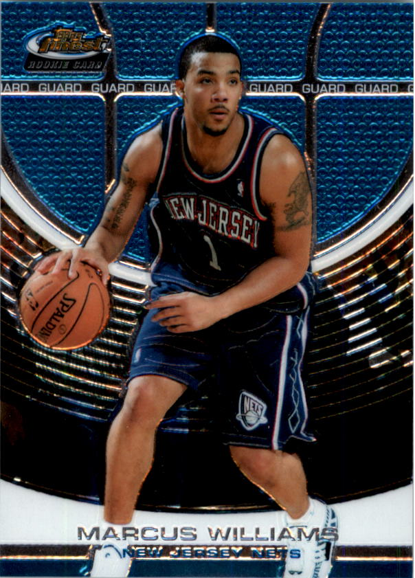 2005-06 Finest #161 Marcus Williams XRC