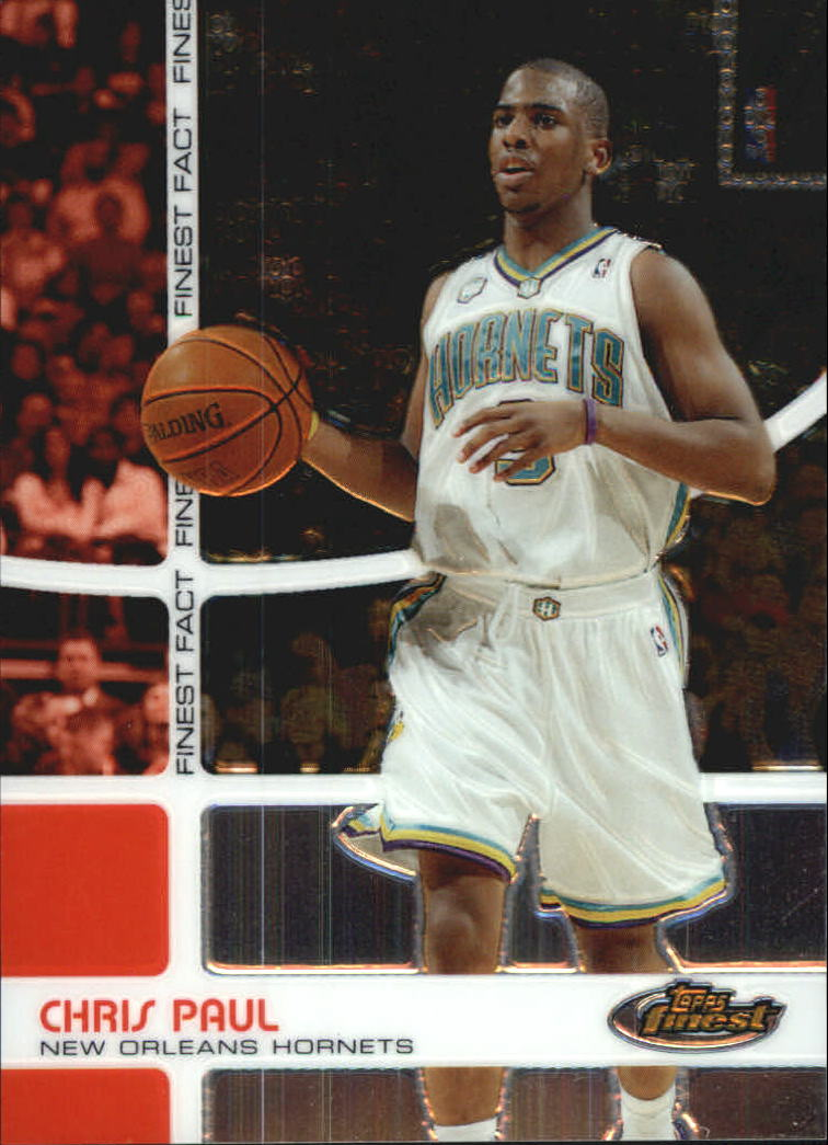 2005-06 Finest Fact #FF22 Chris Paul