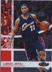 2005-06 Finest Fact #FF23 LeBron James