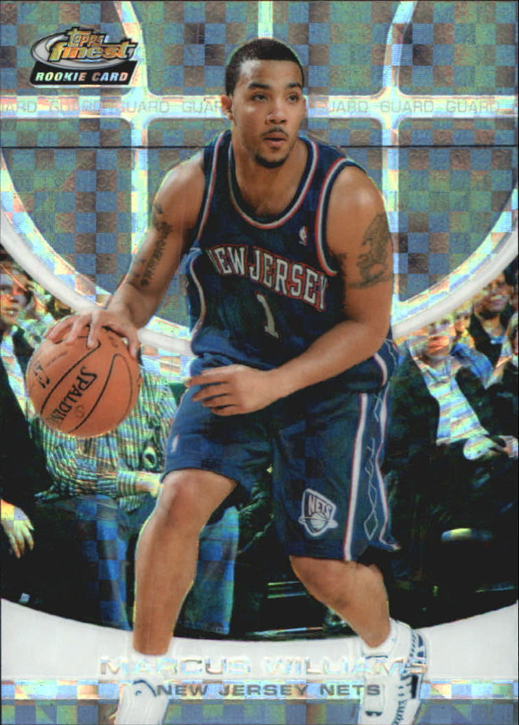 2005-06 Finest X-Fractors #161 Marcus Williams