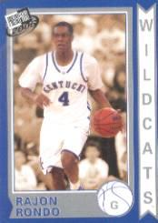 2006 Press Pass Old School #10 Rajon Rondo