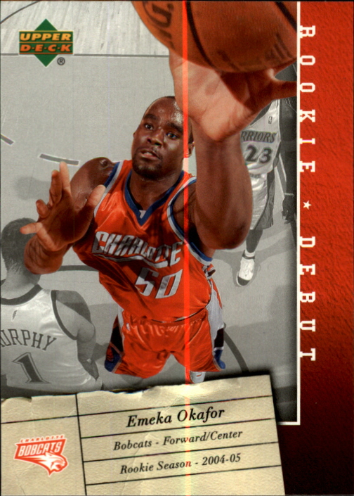 2006-07 Upper Deck Rookie Debut #8 Emeka Okafor