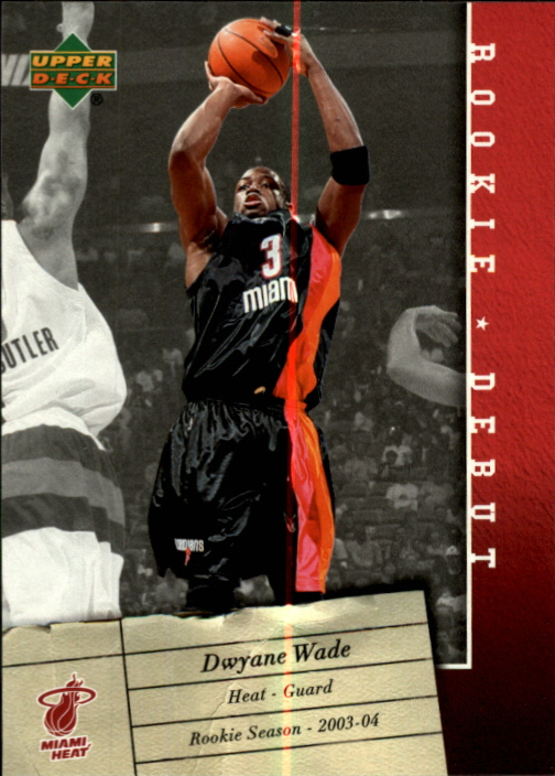 2006-07 Upper Deck Rookie Debut #48 Dwyane Wade