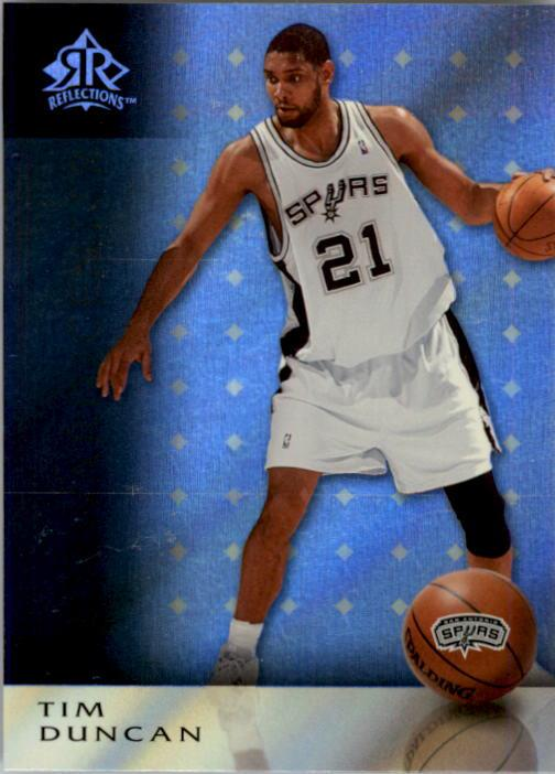 2006-07 Reflections #85 Tim Duncan