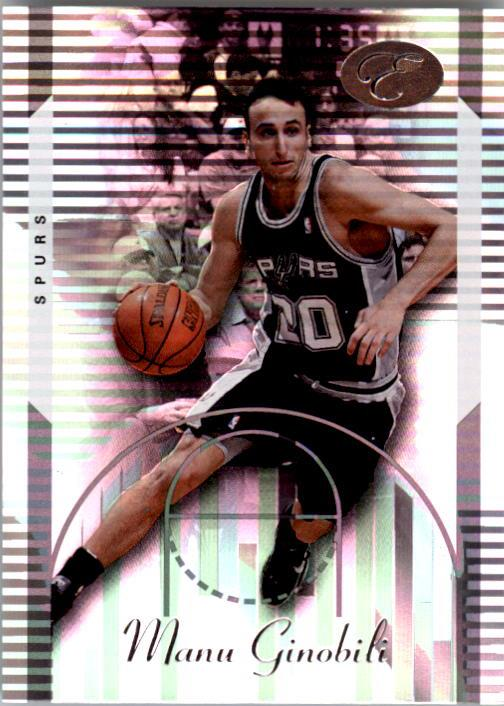 2006-07 Bowman Elevation #12 Manu Ginobili