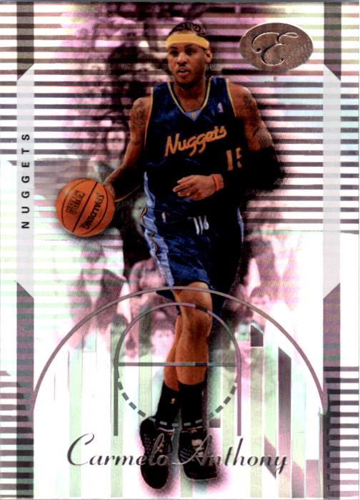 2006-07 Bowman Elevation #15 Carmelo Anthony