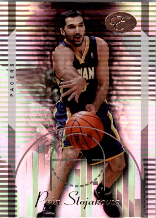 2006-07 Bowman Elevation #18 Peja Stojakovic