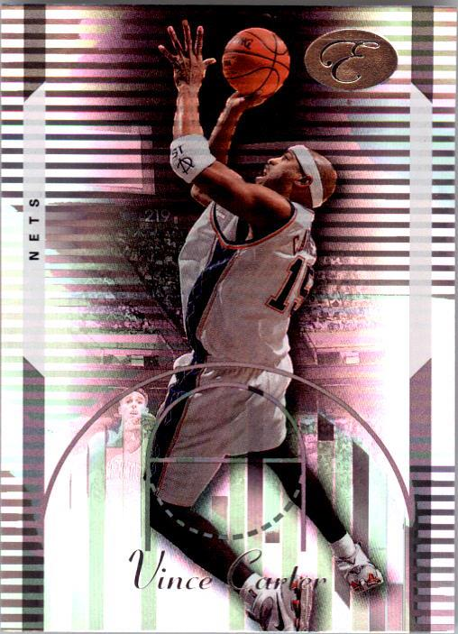 2006-07 Bowman Elevation #19 Vince Carter