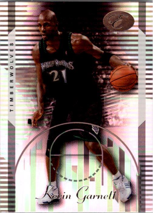 2006-07 Bowman Elevation #20 Kevin Garnett