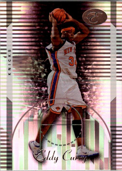 2006-07 Bowman Elevation #24 Eddy Curry