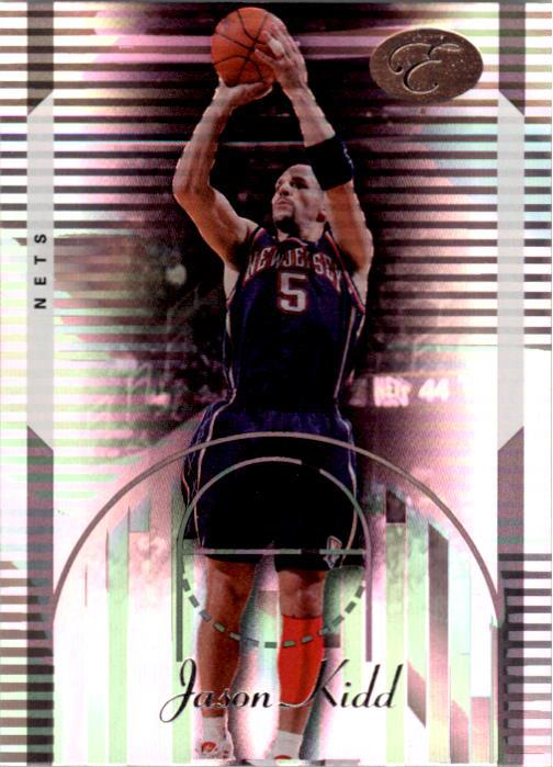 2006-07 Bowman Elevation #50 Jason Kidd