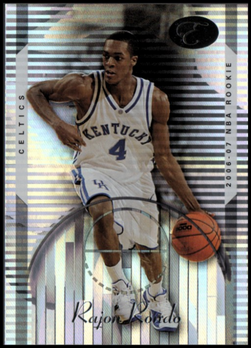 2006-07 Bowman Elevation #102 Rajon Rondo RC