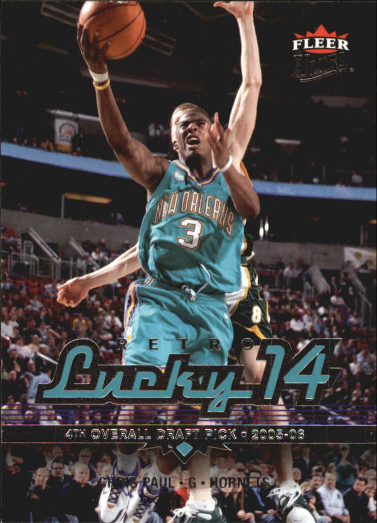 2006-07 Ultra #174 Chris Paul L14 Ret