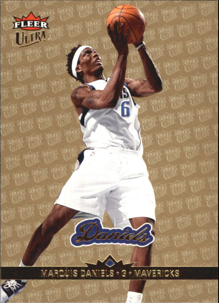 2006-07 Ultra Gold Medallion #30 Marquis Daniels