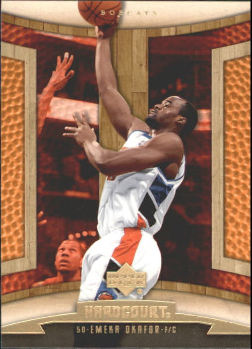 2006-07 Upper Deck Hardcourt #8 Emeka Okafor