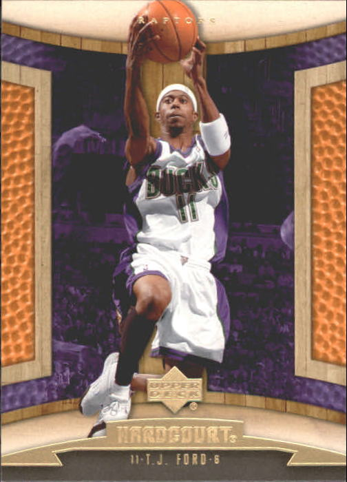 2006-07 Upper Deck Hardcourt #55 T.J. Ford