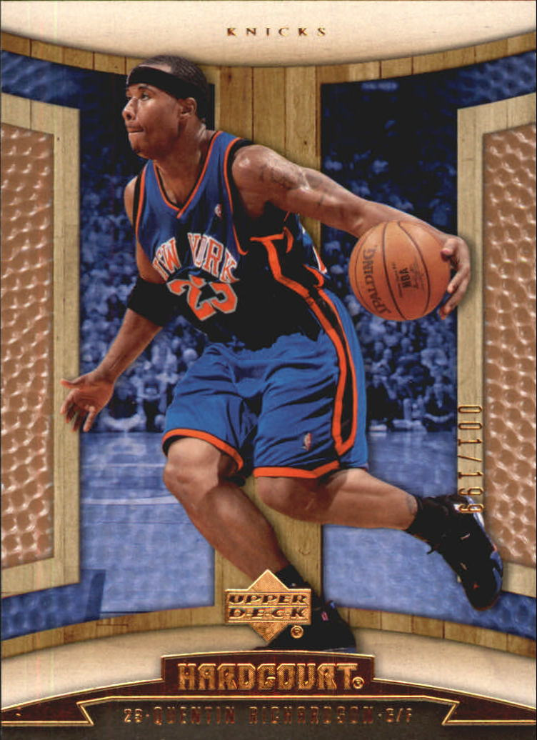 2006-07 Upper Deck Hardcourt Copper #70 Quentin Richardson