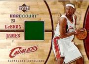 2006-07 Upper Deck Hardcourt Game Floor #14 LeBron James