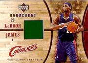 2006-07 Upper Deck Hardcourt Game Floor #15 LeBron James