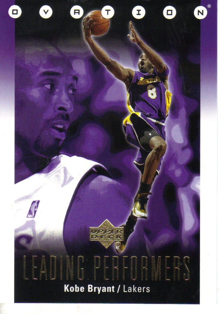 2006-07 Upper Deck Ovation Leading Performers #KB Kobe Bryant