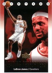 2006-07 Upper Deck Ovation Leading Performers #LJ LeBron James