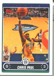 2006-07 Topps #3 Chris Paul