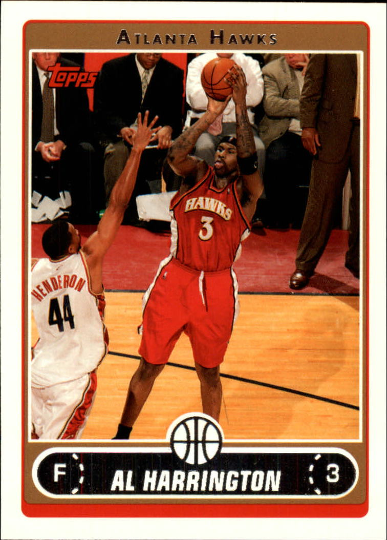 2006-07 Topps #6 Al Harrington
