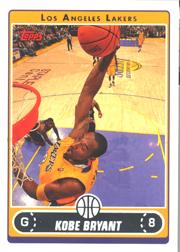 2006-07 Topps #8 Kobe Bryant