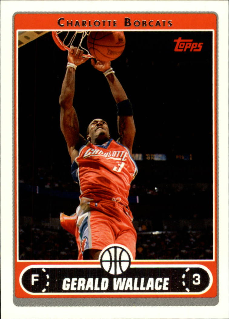 2006-07 Topps #10 Gerald Wallace