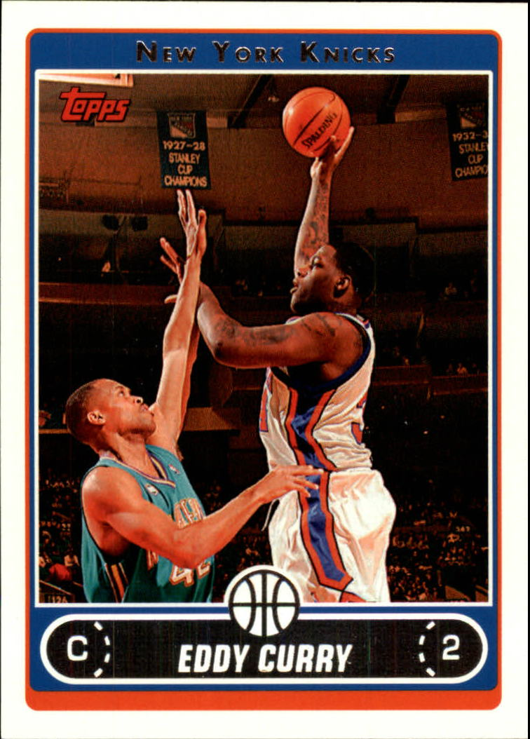 2006-07 Topps #22 Eddy Curry