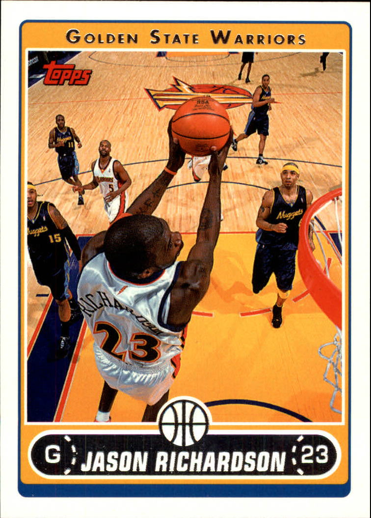 2006-07 Topps #23 Jason Richardson