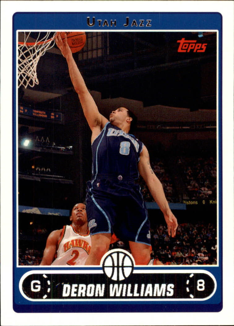 2006-07 Topps #28 Deron Williams