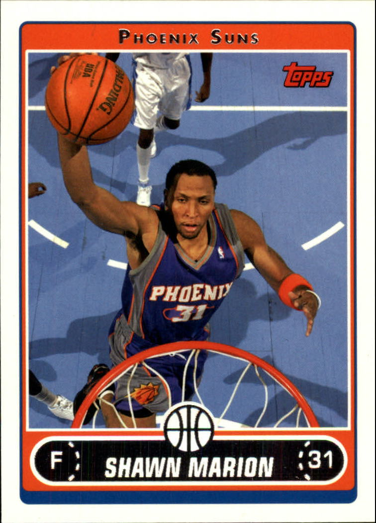 2006-07 Topps #31 Shawn Marion