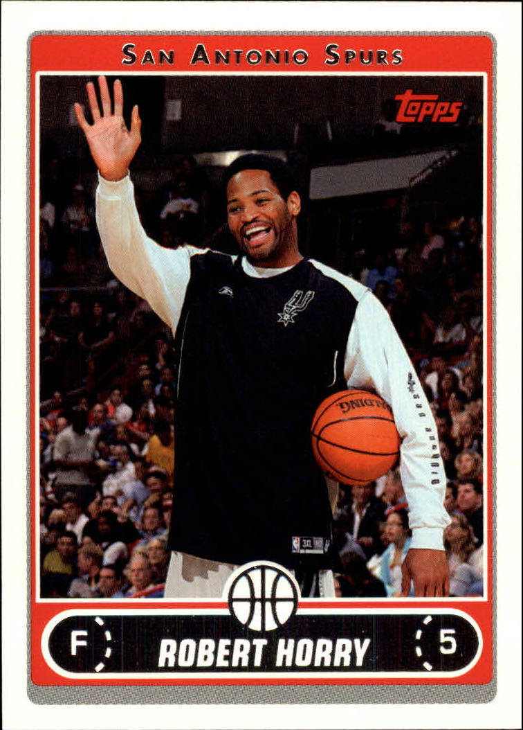 2006-07 Topps #37 Robert Horry