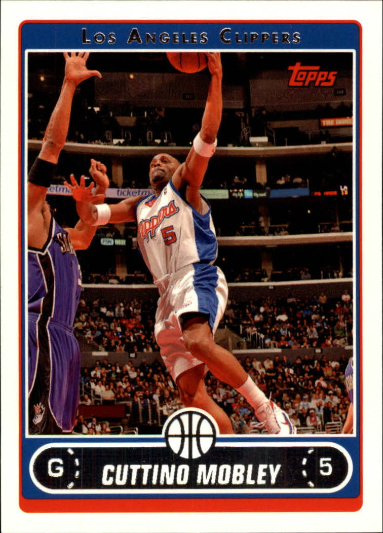 2006-07 Topps #39 Cuttino Mobley
