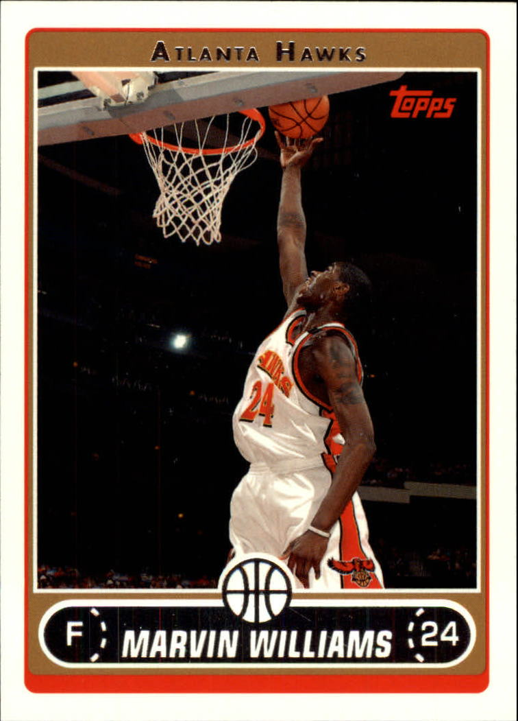 2006-07 Topps #45 Marvin Williams