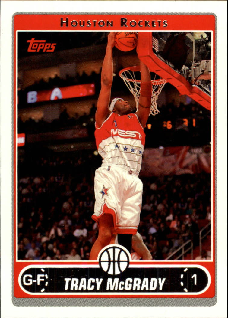 2006-07 Topps #50 Tracy McGrady