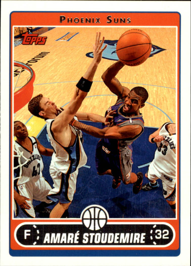 2006-07 Topps #55 Amare Stoudemire