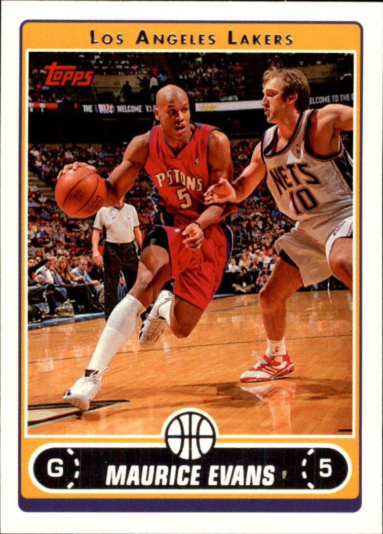 2006-07 Topps #60 Maurice Evans