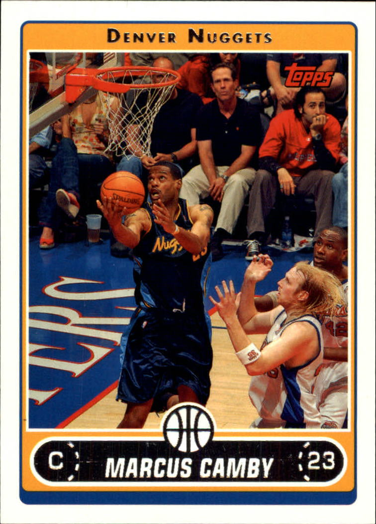 2006-07 Topps #61 Marcus Camby