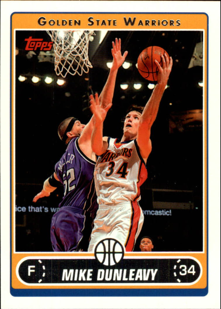 2006-07 Topps #81 Mike Dunleavy
