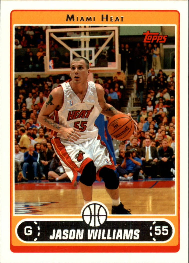 2006-07 Topps #83 Jason Williams