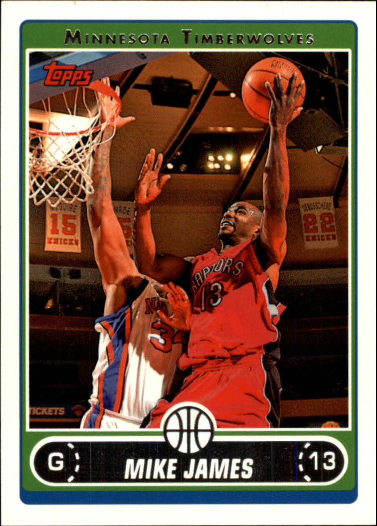 2006-07 Topps #102 Mike James