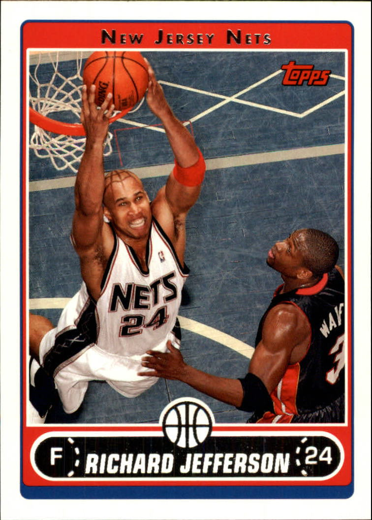 2006-07 Topps #107 Richard Jefferson
