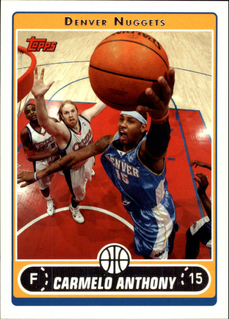 2006-07 Topps #197 Carmelo Anthony